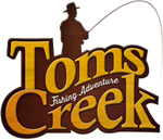 Forelvissen bij Tom's Creek